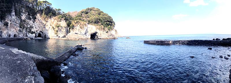 今日は天気も良く海も最高です